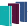Chronoplan Buchkalender Colour Edition  2017 Mini A010005L