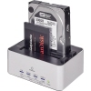 "Renkforce Dockingstation 2 SATA-Festplatten: 1x 6,4cm (2,5""), 1x 8,9 cm (3,5"") A010157M"