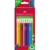 Faber-Castell Farbstift Triangular Jumbo  10 St./Pack. A010387L