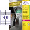 Avery Zweckform Folienetikett 45,7 x 21,2 mm (B x H) A010446W