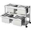 DURABLE Hängemappenwagen SYSTEM FILE TROLLEY 200 MULTI DUO A010545N