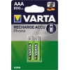 Varta Akku Recharge Accu Power Phone  Micro/AAA A011281L