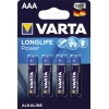 Varta Batterie Longlife Power AAA/Micro 4 St./Pack. A011282I