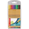 STABILO® Fineliner point 88® 10 Farben 10 St./Pack. A011439C