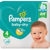 Pampers Windel Baby Dry 4 (9-14 kg) A011474C