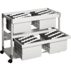 DURABLE Hängemappenwagen SYSTEM FILE TROLLEY 200 MULTI DUO A011593S