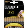 DURACELL Batterie Plus Power AAA/Micro 20 St/Pack. A011936X