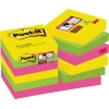 Post-it Haftnotiz Super Sticky Rio de Janeiro Collection 48 x 48 mm (B x H) A012136C