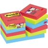 Post-it® Haftnotiz Super Sticky Notes Bora Bora Collection  12 Block/Pack. A012205T