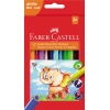 Faber-Castell Farbstift Triangular Jumbo 12 St./Pack. A012263S
