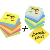 Post-it® Haftnotiz Rainbow Notes Promotion A012663S