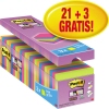 Post-it® Haftnotiz Super Sticky Notes Bangkok Collection Promotion 24 Block/Pack. A012686Q