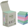 Post-it® Haftnotiz Recycling Notes Mini Tower Pastel Rainbow A012808A