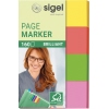 SIGEL Haftmarker Brillant 50 x 20 mm (B x H) A012889F