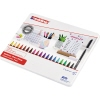 edding Fasermaler 1200 colourpen Metalletui 20 St./Pack. A012947X