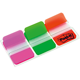 Post-it® Haftstreifen Index Strong  3 Block/Pack.