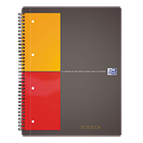 Oxford Collegeblock International Notebook DIN A4+ kariert
