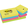 Post-it® Haftnotiz Active Collection Notes  51 x 38 mm (B x H) 12 Block/Pack. A006812L