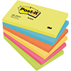 Post-it® Haftnotiz Active Collection Notes  127 x 76 mm (B x H) 6 Block/Pack. A006812O