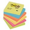 Post-it® Haftnotiz Active Collection Notes  76 x 76 mm (B x H) 6 Block/Pack. A007018B