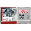 NOVUS Heftklammer 24/6 DIN SUPER
